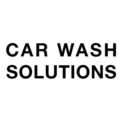 Solutions lave-auto dédiées