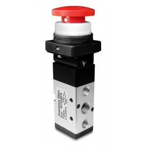 Vanne manuelle 5/2 MV522EB 1/4 inch actionneurs