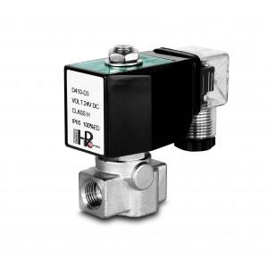 Electrovanne haute pression HP15-M inox SS304 110bar