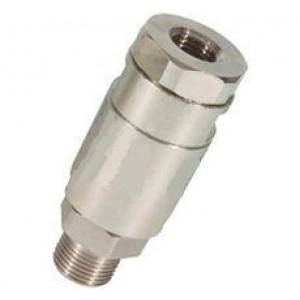 Pivotant droit au tuyau de pression lavage 1/4, 3/8 pouces