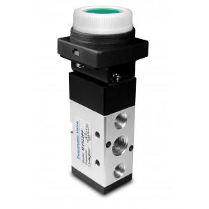 Vanne manuelle 5/2 MV522PP 1/4 inch actionneurs