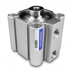 Vérins pneumatiques compacts CQ2 63x20