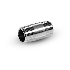 Tuyau mamelon inox 1/4 pouce 38 mm