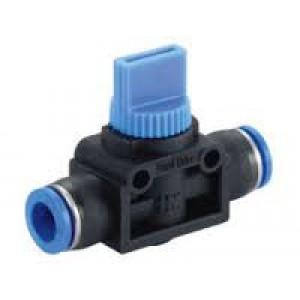 Robinet d'arrêt sur le tuyau 6mm HVFF-06