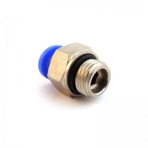 Branchez le mamelon droit tuyau 16mm filetage 1/2 pouce PC16-G04