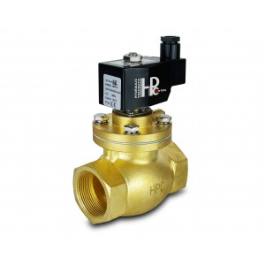 Electrovanne à vapeur et haute température. ouvrir LH50-NO DN50 200C 2 pouces