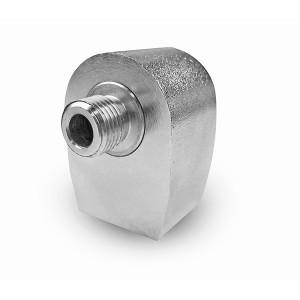 Connecteur rotatif angulaire pour table de cuisson 1/4 pouces
