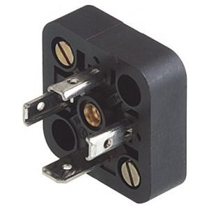 Embase pour fiche 18mm DIN 43650