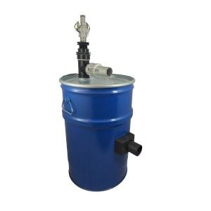Réservoir d'aspirateur 60l avec nettoyage du filtre à air comprimé