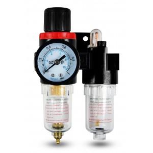 Filtre déshydrateur régulateur lubrificateur FRL 1/4 pouces mis à l'air AFC2000
