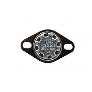 Thermostat bimétallique, sonde de température NC 5 ℃ 10A 230VAC type KSD301