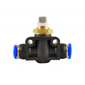 Soupape de starter de régulateur de débit de précision 6mm LSA06