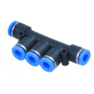 Distributeur, prise mamelon PK06 tuyau 6mm