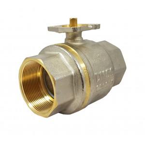 Robinet à bille 2 pouces DN50 PN25 plaque de montage ISO5211