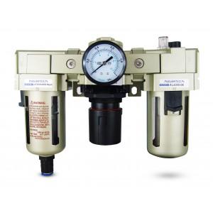 Lubrifiant de régulateur de déshydrateur de filtre FRL 3/4 pouces mis à l'air AC4000-06D