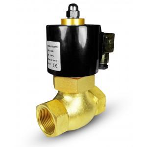 Electrovanne pour vapeur et haute température. 2L40 DN40 180 ° C 1 1/2 pouces