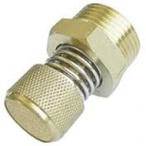 Silencieux d'échappement d'air avec régulateur de débit BESLD 1/8 inch