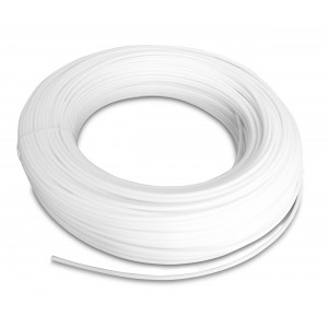 Flexible pneumatique en polyamide PA Tekalan 12/10 mm 1m blanc