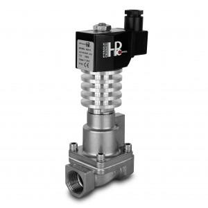 Electrovanne à vapeur et haute température. RHT15-SS DN15 300C 1/2 pouce