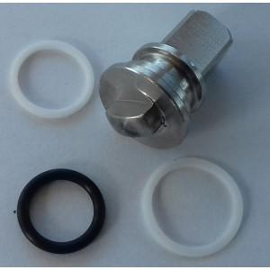 Kit de réparation pour vanne 3 voies haute pression 3/8 et 1/2 cala ss304 HB3
