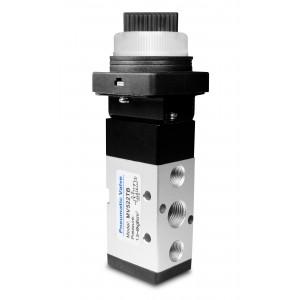 Vanne manuelle 5/2 MV522TB 1/4 inch actionneurs