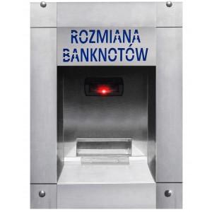 Changeur d'argent de billets en pièces de monnaie