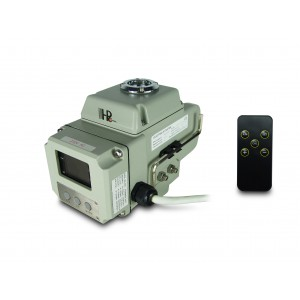 Robinet électrique à boisseau sphérique A1600 230V AC 160Nm control 4-20mA