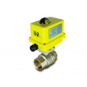 Robinet à bille 1 1/2 pouce DN40 avec actionneur électrique A250