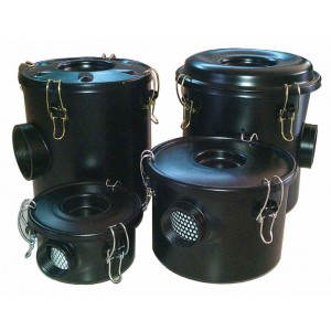 Filtre à air avec boîtier pour pompe à air vortex 1 1/2 pouces