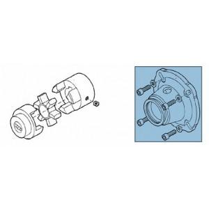 Embrayage + adaptateur pour kit de pompe RO