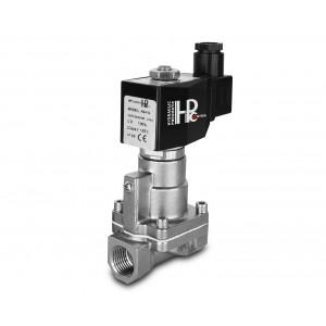 Electrovanne à vapeur et haute température. RH15-SS DN15 200C 1/2 pouce en acier inoxydable SS304