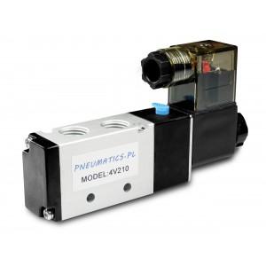 Electrovanne à vérins pneumatiques 4V210 5/2 1/4 230V 12V 24V