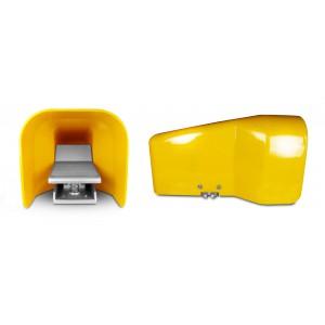 Clapet de pied, pédale d'air 5/2 1/4 pouces pour cylindre 4F210G - monostable avec couvercle