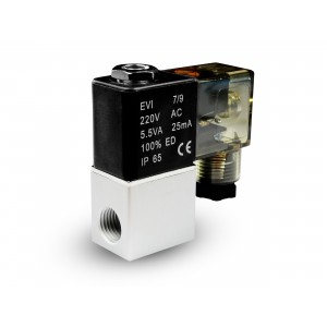 Electrovanne à air et co2 2V08 1/4 230V 24V 12V