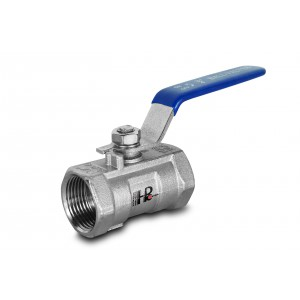 Robinet à tournant sphérique en acier inoxydable 3/8 pouce DN10 avec levier à main - 1 pièce