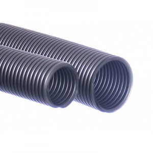 Tuyau d'aspirateur 38/40 mm argent 5m EVA