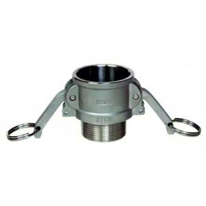 Connecteur Camlock - type B 1 1/2 pouce DN40 SS316